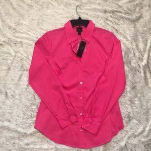 Pink Worthington Button Down Shirt